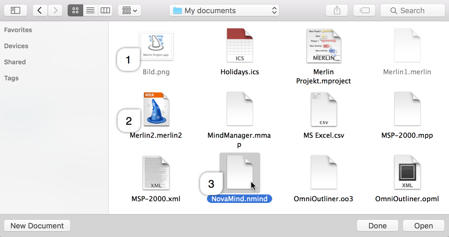 User reference handbook for merlin project file formats not supported by merlin project are grayed out 1 readable files which can be imported are not grayed out 2 and can geenschuldenfo Images