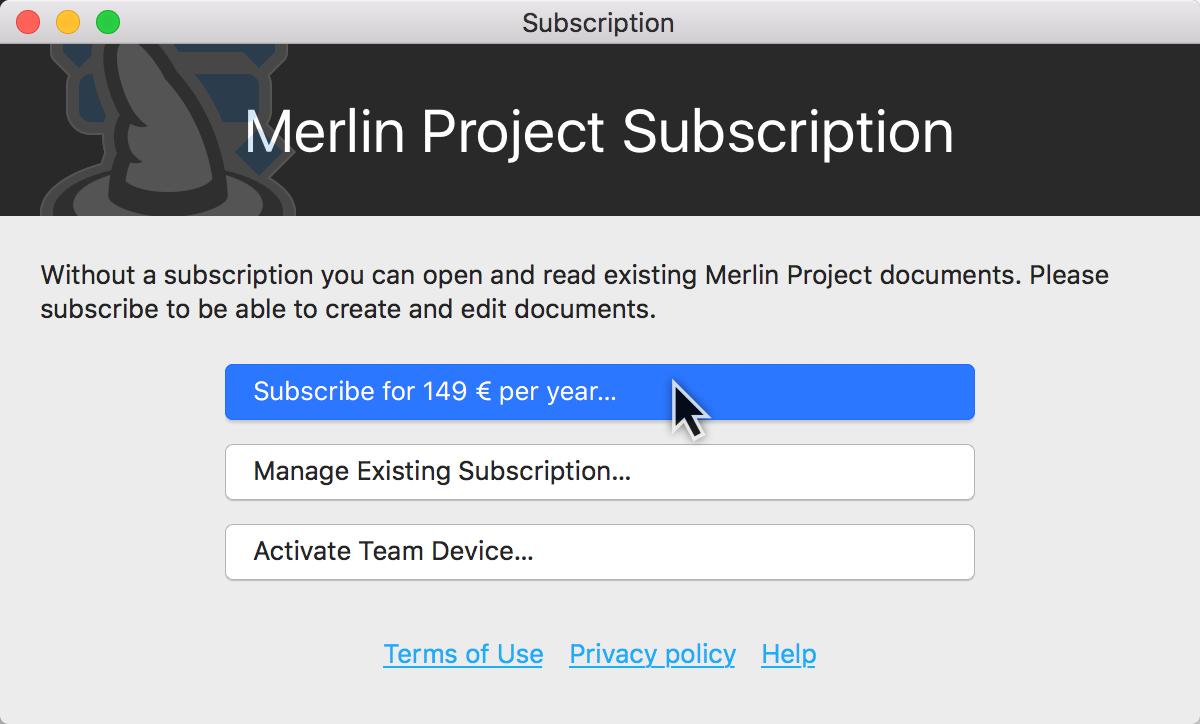 Merlin Project Help